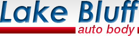 lake bluff auto body logo